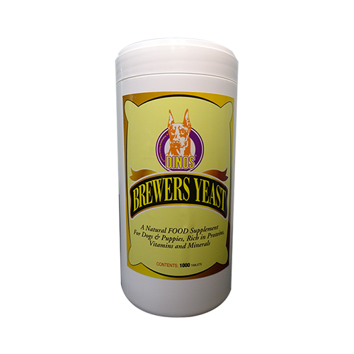 Brewers Yeast Dinos Pet Supply