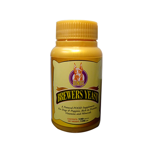 Dinos Brewers Yeast 120t-500x500