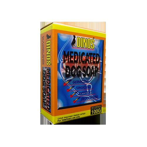 Dinos Medicated dog soap-500x500
