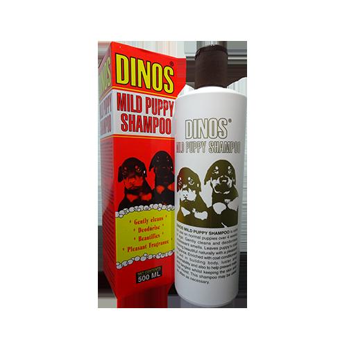 Dinos Mild Puppy Shampoo 500ML-500x500