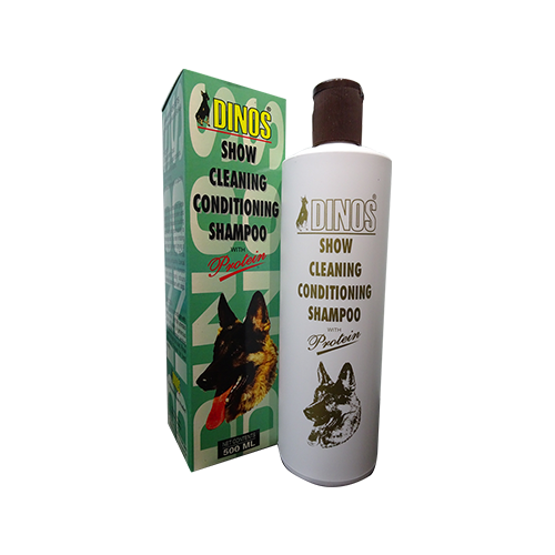 Dinos Show Cleaning Conditioning Shampoo 500ML-500x500