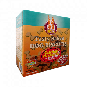 Dinos Tasty Baked Dog Biscuits (Calcium Enriched)-500x500