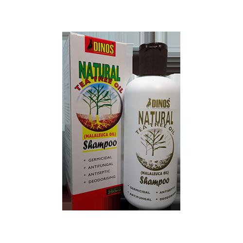Dinos Tea Tree Shampoo 250ML-500x500