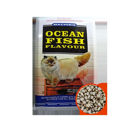 Machiko Dry Cat Food – Ocean fish-500x500