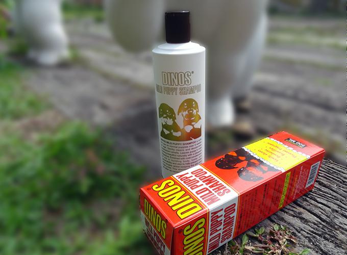 dinos-mild puppy shampoo
